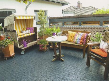 Der Bergo XL Terrassenboden für die Renovierung
