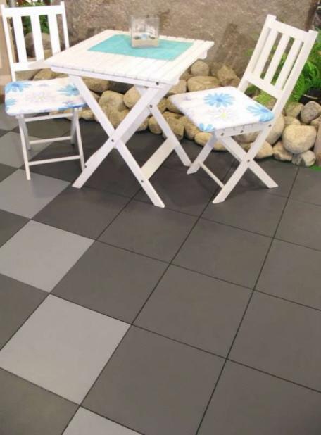terrassen mit terrassenboden aus kunststoff. Black Bedroom Furniture Sets. Home Design Ideas
