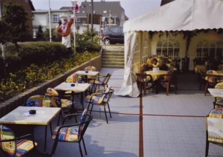 Terrassen für die Außen-Gastronomie