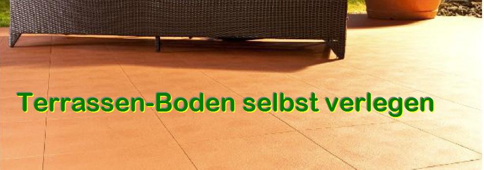 Terrassenboden Aus Witterungsbestandigen Kunststoffplatten